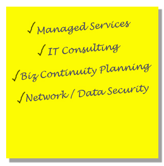 Managed Services in Cincinnati, IT Consulting, Business Continuity Planning